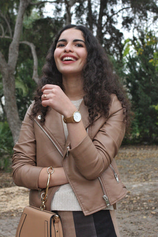 Noa from Style with a Smile. Vegan fashion inspiration