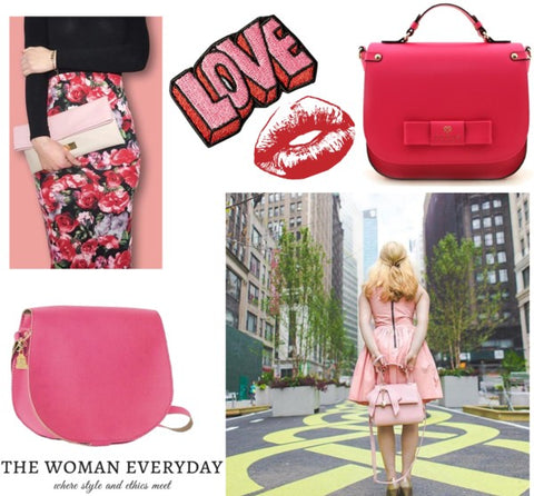 Valentine's Day Vegan Fashion Inspiration. Crossbody Bags, Handbags and Clutches