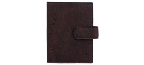 Cedar Passport Sleeve -  Brown and Blue  Arture- The Woman Everyday