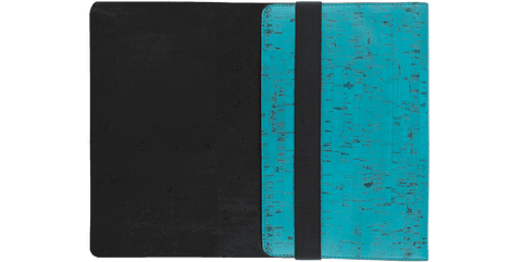 "Skye 13"" Mac Laptop Sleeve - Teal & Black"