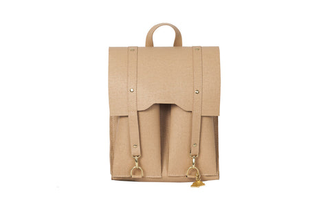 Beige Bailey Rucksack  Wilby- The Woman Everyday