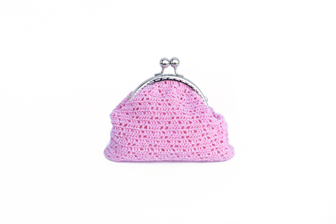 Princess Crochet Cosmetic Bag Accessories The Woman Everyday - vegan and ethically made. The Woman Everyday