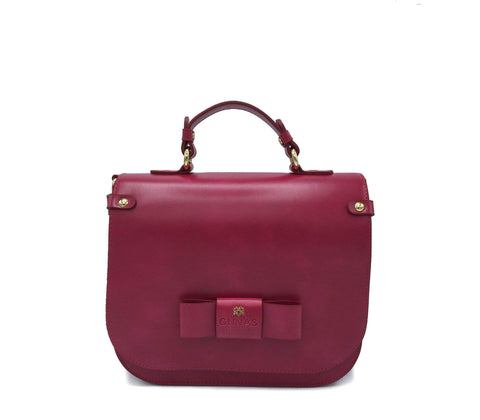 Ridley Premium Crossbody - Ruby