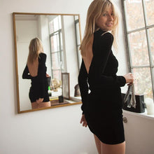 Load image into Gallery viewer, CHELSEA dress in black