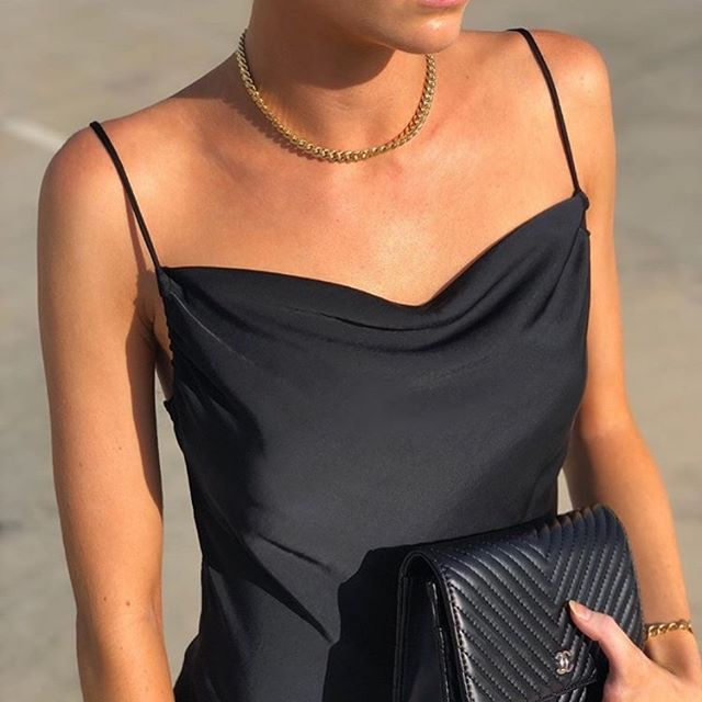 PARIS dress in black