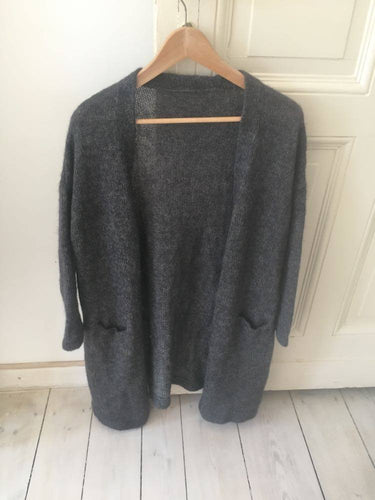 Vintage knitted long sweater