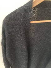 Load image into Gallery viewer, Vintage knitted long sweater