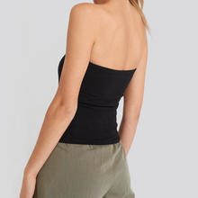 Load image into Gallery viewer, PROVENCE Bandeau top in black