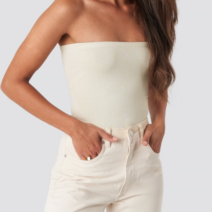 PROVENCE Bandeau top in beige