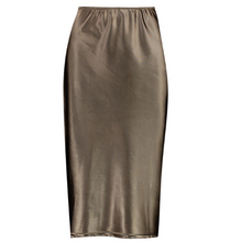 Load image into Gallery viewer, FLORENCE skirt in golden khaki