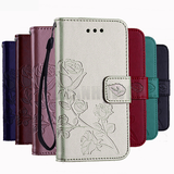 3D Flower Leather Case For Samsung Galaxy
