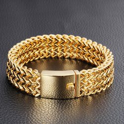 Men's Gold Color Bracelet