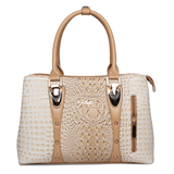 2019 Fashion Crocodile Leather Tote Bags For Women