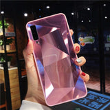 Diamond Mirror Case For Samsung Galaxy