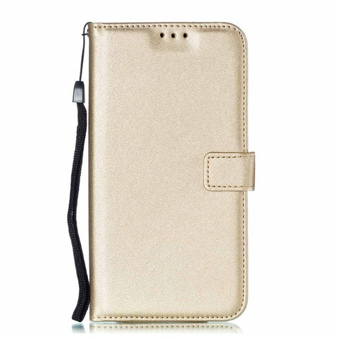 Polyurethane Leather Flip Wallet Case for Huawei P30 Pro P20 P10 P9 P8 Mini P7