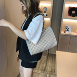 Luxury Designer Canvas Knitting Shoulder Bags For Women