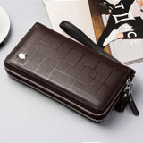 New Genuine Leather Multi-functional Long Wallet