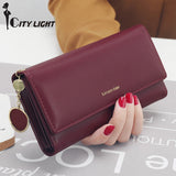 New Fashion Long Style Multi-functional wallet For Women