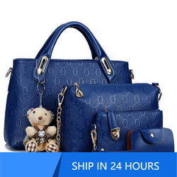 4pcs/Set Women Designer Bags