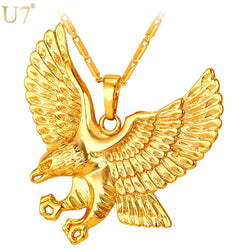 Eagle Pendant Necklace For Men