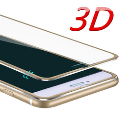 Tempered glass phone case For Apple iPhone 6 6S 5 7 8 plus X Full-screen coverage cover.