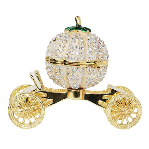 Pumpkin Carriage Jewelry Box