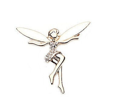 Ballet Angel  Wings Brooches For Women