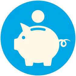 piggy bank - funding your PT course