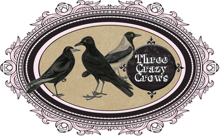 Three Crazy Crows