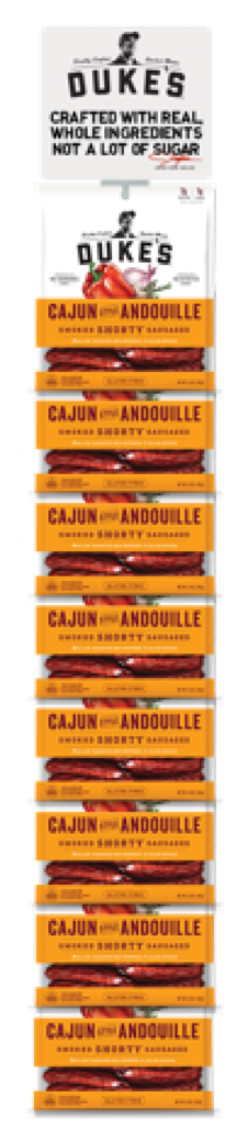 8 CT. Clip Strips/Cajun Style Andouille Smoked