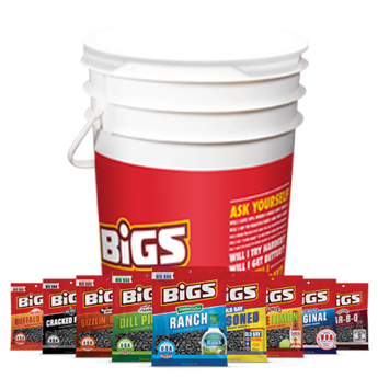 BIGS Coach's Bucket w/ 15 5.35oz bags