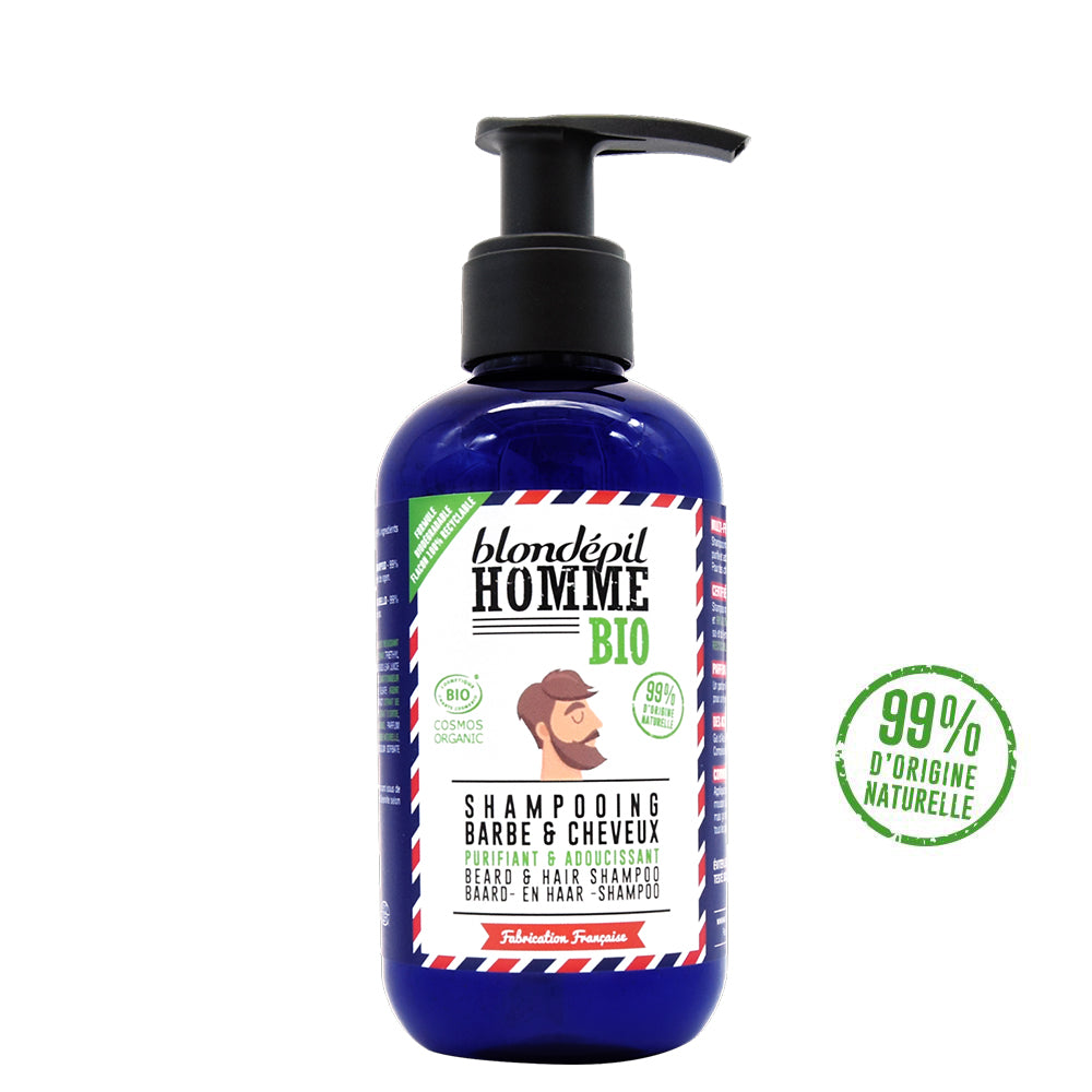 Shampooing BIO Barbe & Cheveux