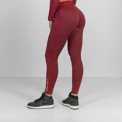 Legacy Leggings Rosso - Animal Ambition
