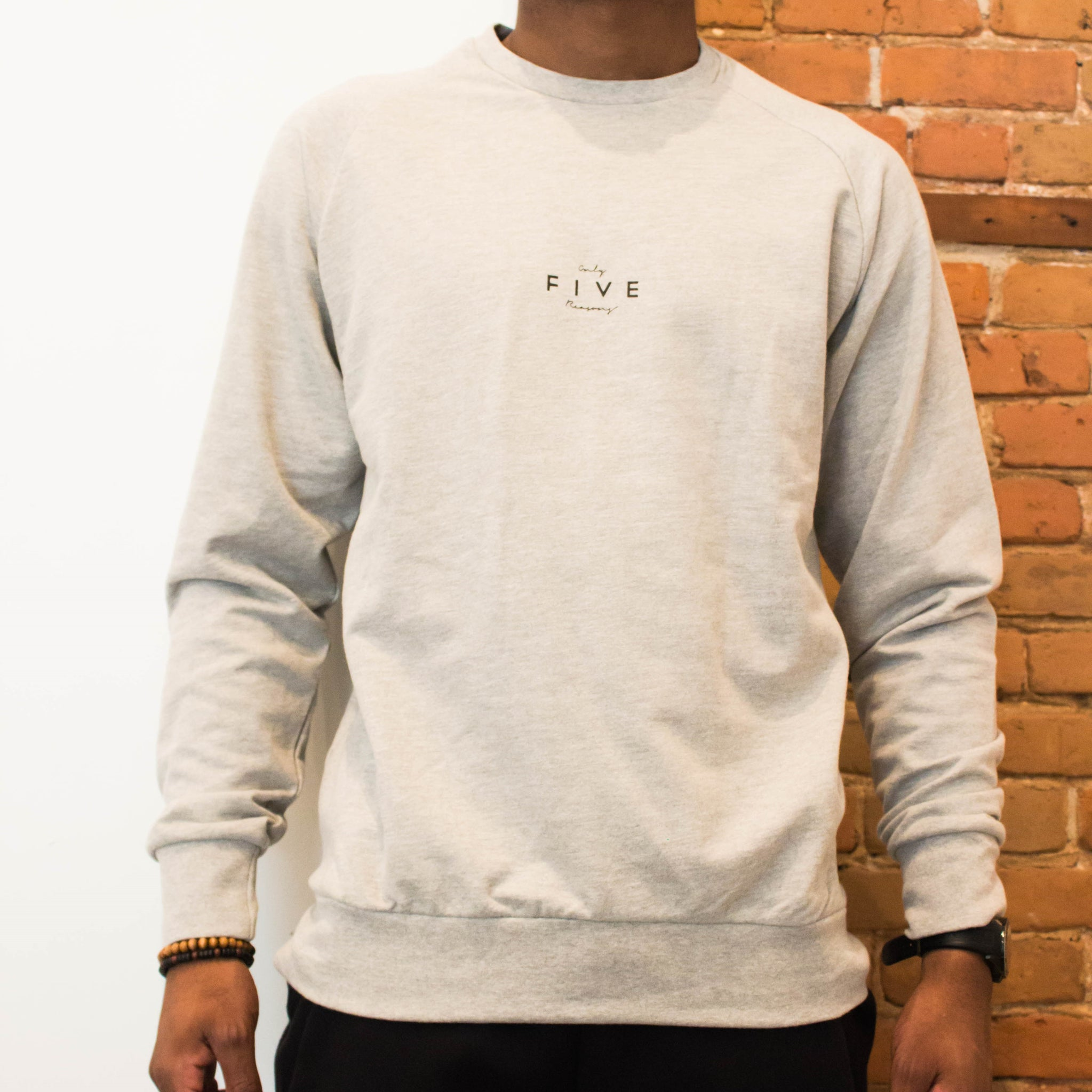 La Base - Crewneck Grey