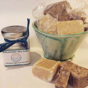 Devon-Style Traditional English Sea Salt Fudge