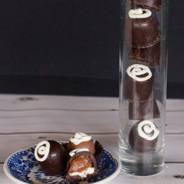 Caramel Marshmallow BonBons-Milk Chocolate  6 pieces