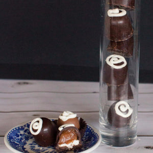 Caramel Marshmallow BonBons-Dark Chocolate  6 pieces