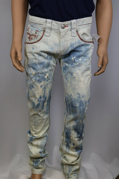 Rock Revival Brand TEO A216 ALT STRAIGHT CUT JEAN