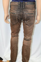 Rock Revival Brand DAVIDAY S203 MOTO JEAN