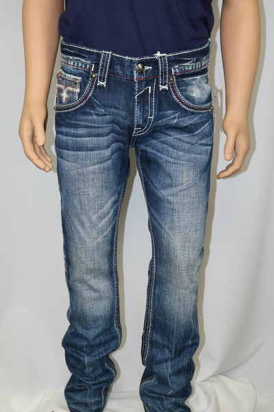 Rock Revival Brand CYREK J200 STRAIGHT CUT JEAN