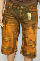 Robins Jeans Brand Tango Style Distressed Shorts