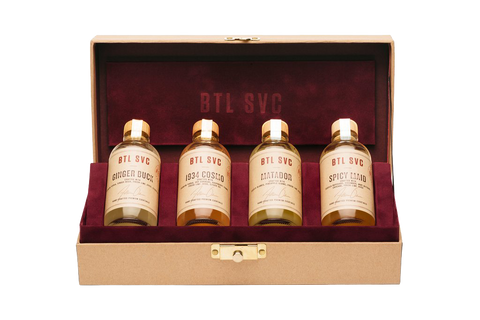 Custom 4 Bottle Box Set