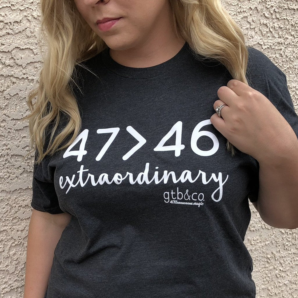 47 > 46 Extraordinary T-Shirt