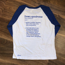 Down syndrome Love - Youth Raglan
