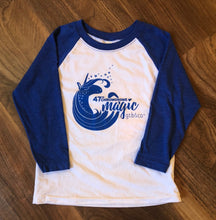 Unicorn Blue Raglan - Youth