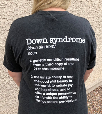 Original Down syndrome Definition shirt Extra Chromes Extra Cute