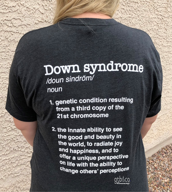 47 > 46 Extraordinary Down Syndrome Definition Shirt
