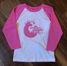 Unicorn Pink Raglan - Youth