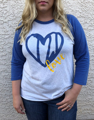 Heart T21 Love - Raglan