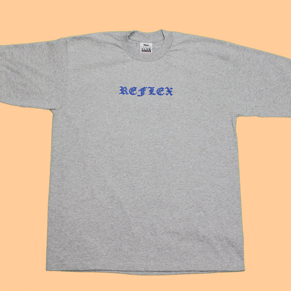 Heather Grey / Blue / LS
